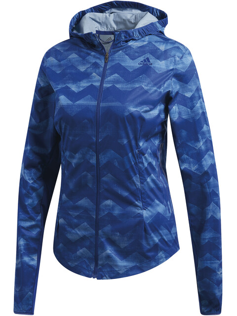 adidas Adizero Track Jacket Women Raw Grey/Mystery Ink